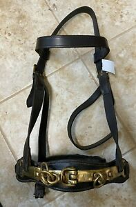 Leather Lunging Caveson - Brown - Approx FS