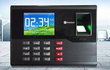 TCP/IP Card & Fingerprint time attendance system employee Fingerprint time clock