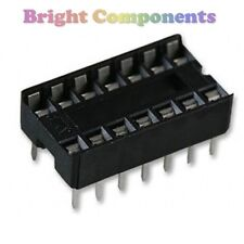 20 x Neuf 14 broches DIL DIP IC Sockets - 1er classe post