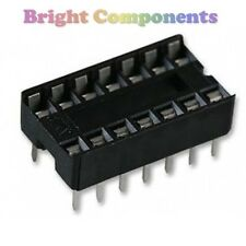 20 x Brand New 14 Pin DIL DIP IC Socket - 1st CLASS POST