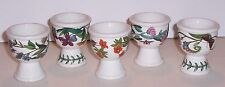 5 EGG CUPS PORTMEIRION BOTANIC GARDEN EGG CUPS  2.5""