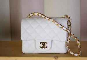 Authentic Chanel flap mini bag