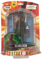 Doctor Who Series 3 Scarecrow Action Figure NEW Dark Blue w Top Trumps Card RARE