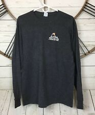 Alpine Ski Club Alpine Daze XXII Mens Long Sleeve Graphic T Shirt Size Large