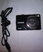 FUJIFILM JV300 14MP 3x Optical Zoom Digital Camera - Black