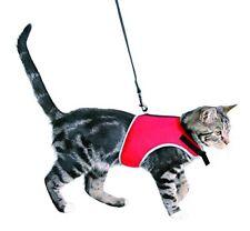 Pettorina e Guinzaglio per Gatto Nera Imbragatura Sicura Collare TRIXIE