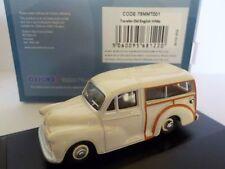 MORRIS Traveller - White 1:76 Oxford Diecast Model Car British