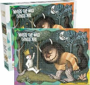 Where The Wild Things Are 500 piece jigsaw puzzle   480mm x 350mm  (nm)