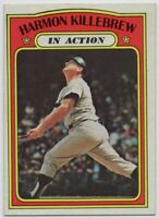 1972 Topps #52 Harmon Killebrew Near Mint or Better Twins FREE SHIPPING