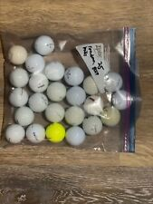 25 Assorted Used Golf Balls. Cleaned And Refurbished