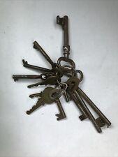 Alter Schlüsselbund Schlüssel Türen Kästen Kasten Truhen Truhe