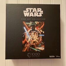 Buffalo Games Star Wars Fine Art Collection 1000 pc Puzzle Luke Obi-Wan Leia Han