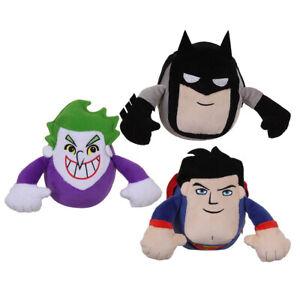 DC COMICS SUPERFRIENDS SLINGABLE SOUNDS CUDDLY SOFT PLUSH TOY 12cm **NEW**