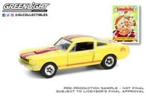 GREENLIGHT 54050-D 1/64 GARBAGE PAIL KIDS SHATTERED SHELBY 1966 SHELBY GT350