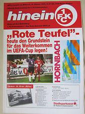 Programm UEFA Cup 95/96 / 1.FC Kaiserslautern - Real Betis Sevilla