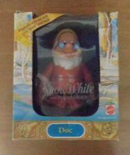 "Mattel Walt Disney Doc Dwarf 1992 6"" Plastic Toy. Old Stock Vintage Original"