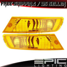 2005-2007 JEEP LIBERTY Parking Marker Signal Lights - Left Right Sides Pair