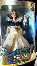 Walt Disney SNOW WHITE and the Seven Dwarfs Disney holiday collection BARBIE