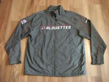 Official Montreal Alouettes Cfl Sideline Jacket Reebok Mens Size Large Perfect