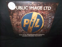 Public Image Ltd. Live O2 Shepherd's Bush London 2015 Sealed New 180g Vinyl 2 LP