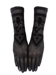 Restyle Clothing - Gothic Rose - Gothic Mesh Gloves
