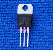 10pcs New TIP122 NPN Transistor 100V 5A TO-220 ST