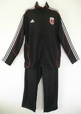 RARE~Adidas DC UNITED Soccer Football Track suit Jersey Top Jacket-Pant sweat~XL