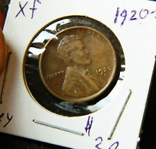 1920s  LINCOLN CENT HIGHER GRADE + XF++ Full Wheat Lines