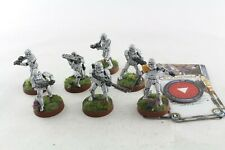 Star Wars Miniatures Stormtroopers x 7 Legion Game Well Painted