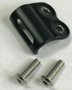 New Front Derailleur Braze-On Mount Tab Clamp Adapter 16.5mm Hole/Hole Bolted