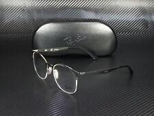 RAY BAN RX6422 2997 Silver On Top Matte Black Demo Lens 51 mm Women's Eyeglasses