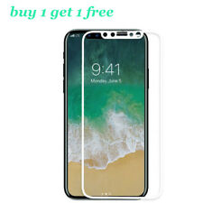 Anti-Scratch 5D HD iPhone X Curved Full Coverage Tempered Glass Screen Protector
