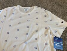Rare XXL NWT Champion ALL OVER PRINT Reverse Weave Shirt Sweatshirt vtg jersey