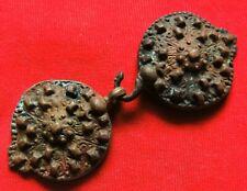 Ancient bronze Viking buckle