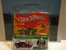 Hot Wheels Red Line Club Red Heavy Chevy w/Button 5000 Made