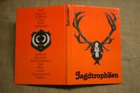 Fachbuch Jäger, Jagdtrophäen, Geweihe, Gehörne, DDR 1981, Mufflon, Reh, Gams