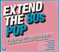 """3 CDs / Extended The 80s Pop-Essential 12""""And Extended Mixes of 80s / NEU!!!"""
