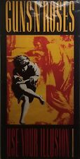 Guns N' Roses 30x60 Use Your Illusion Giant Promo Poster 1991 Original S104