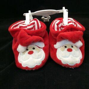 Santa Claus Infant Slippers 0-6 Months Koala Kids Christmas NEW HO HO HO