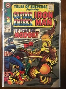 Tales of Suspense Captain America and Iron Man #94 If this be Modok