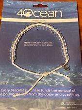 New 4Ocean Bracelet Polar Bear Limited Edition White Nwt