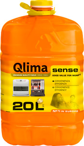 Combustibile liquido per stufe, tanica Qlima Sense da 20 lt, qualità e risparmio