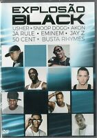 Explosão Black Dvd 50 Cent Jay Z Eminem Snoop Doog Akon J