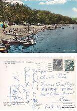# CAPODIMONTE: SPIAGGIA CON I SUOI OLMI SECOLARI  1968