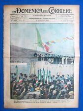 La Domenica del Corriere 26 novembre 1922 Rosolino Pilo - Oackland - Hohenzoller