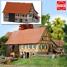 BUSCH 1504 H0 Kleinbauernhaus aus Schwarzenweiler ++ NEU & OVP ++