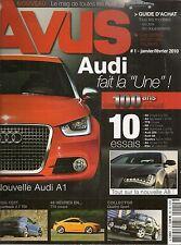 AVUS 1 AUDI A1 TTS COUPE R8 V12 COUPE A5 SPORTBACK 2.7 TDI S8 200 TURBO QUATTRO