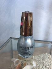 Sinful Shine Nail Polish Gel Tech 4 STEP1 Color SHIMMER SHIVERS #1709 Ice Blue
