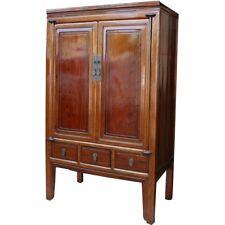 Original Chinese Brown Wedding Cabinet (38-010)