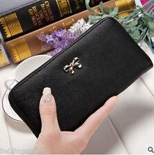 Mode Damen Geldbörse Portemonnaie Geldbeutel Portmonee Brieftasche Handytasche